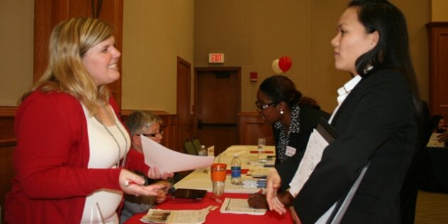 Students Attend Spring Career Fair