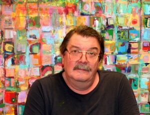 Greg Gibson returned to school to pursue his love of art.