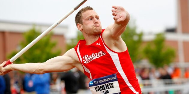 VanLiew Wins Second NCAA Javelin Title in Record-Setting Fashion
