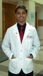Meet Parikh is attending medical school through Rutgers-Camden's BA/DO program.