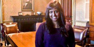 Rutgers–Camden Graduate Interns at White House