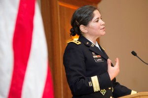 Lt. Gen. Flora Darpino is a graduate of the Rutgers School of Law-Camden.
