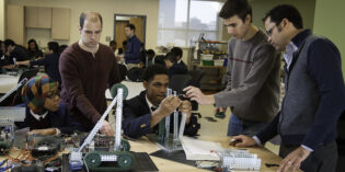 "Rutgers–Camden Students Help LEAP Innovators in ""Fab Lab"""