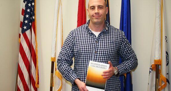 Graduate Student Pens Memoir of Marine Service in Afghanistan