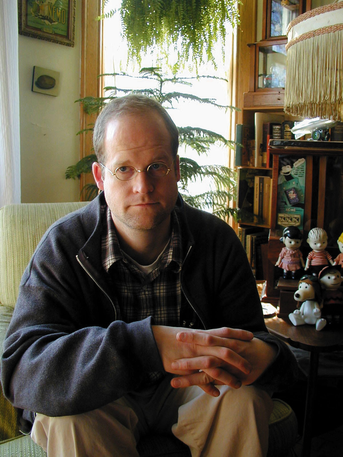 Chris Ware_credit Marnie Ware