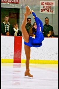 Tsakiris competed internationally on the ice for Greece.