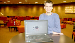 Patrick Martin's 3D design software helps Camden high school students with design projects.