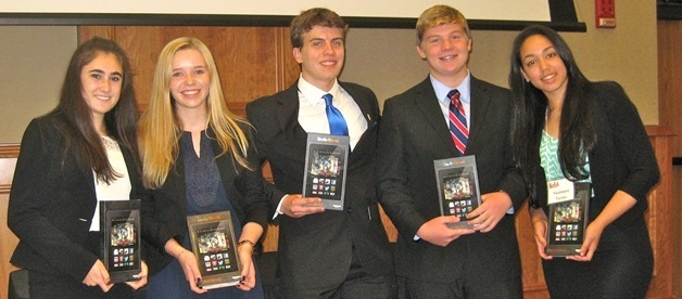 Five High School Students Win Rutgers-Camden BizEd Competition