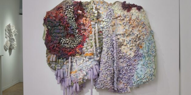 Professor's Mixed-Media Art Showcased