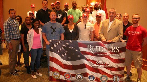 Rutgers–Camden Named Military Friendly School