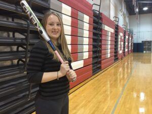 Brittany Striewski eyes a career as a sports executive.