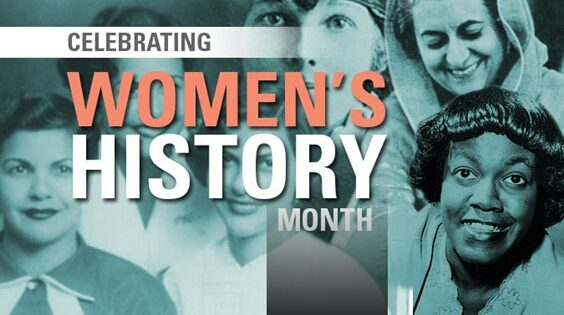 Series of Events Celebrate Women's History Month in March
