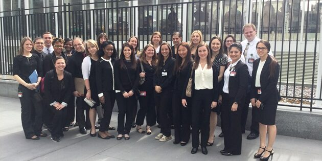 Rutgers School of Nursing–Camden Students visit United Nations to Present Global Health Research