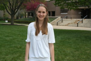 Amelia Kaselaan will graduate from Rutgers-Camden with a degree in marketing.