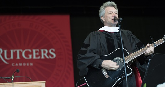 Rutgers–Camden Awards Honorary Degrees to Jon Bon Jovi and Bryan Stevenson