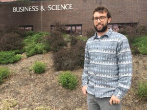 JJ Naddeo graduates from Rutgers-Camden with a physics degree.