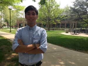 Joseph Valenzuela, a nursing student, has created a digital resource to help nursing students with disaster preparedness and recovery efforts.