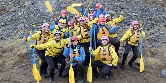 Breaking the Ice: Rutgers Students Ignite Creativity and Share Camaraderie on Inspiring Iceland Trip