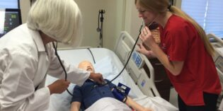 Nursing Simulation Lab Trains Students in Patient Care