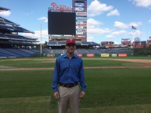 Jeff Singer, a Rutgers-Camden graduate, signed with the Philadelphia Phillies on Oct. 15, 2015.