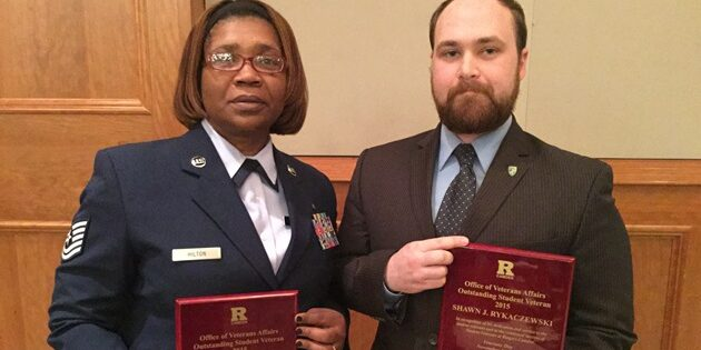 Student Veterans Honored by Peers at Annual Veterans Day Observance