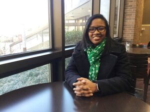Shanta Rembert is one of seven Cooper University Health Care employees working on earning a bachelor's degree in nursing from Rutgers-Camden.