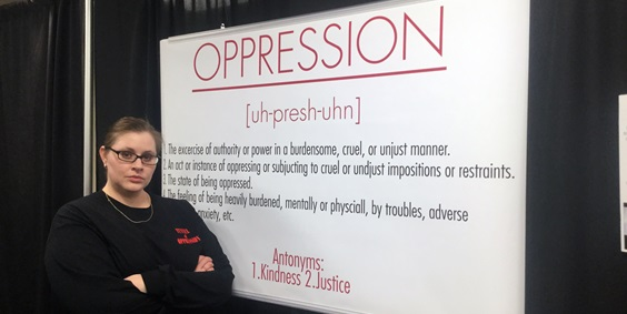 The Tunnel of Oppression: Immersive Skit Series Sheds Light on Various Forms of Abuse