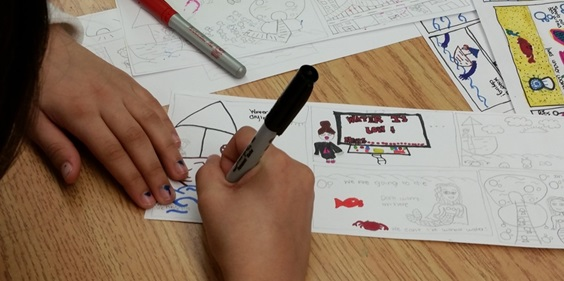 Drawing Interest: Camden Schoolchildren Learn Art of Creating Comics from Rutgers–Camden Grad