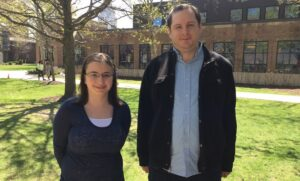 Katherine Scola and Mark Lippincott will attend top graduate school programs for computer science.