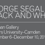 Renowned American Sculptor George Segal Featured in New Exhibition and Related Programs