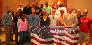 Rutgers–Camden Named Purple Heart University