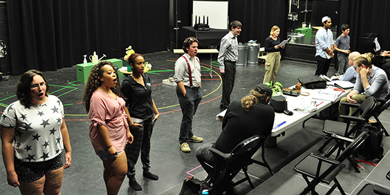"Rutgers–Camden Theater Program Begins 2016-2017 Season with ""Little Shop of Horrors"""