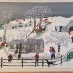 Grandma Moses Painting Donated to Rutgers–Camden by Alumna