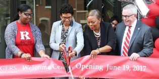 Rutgers–Camden Celebrates Opening of New Welcome Center