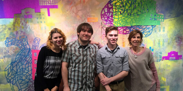 Worth the Wait: Student Health Services Receives New Student- And Alumni-Created Art Mural
