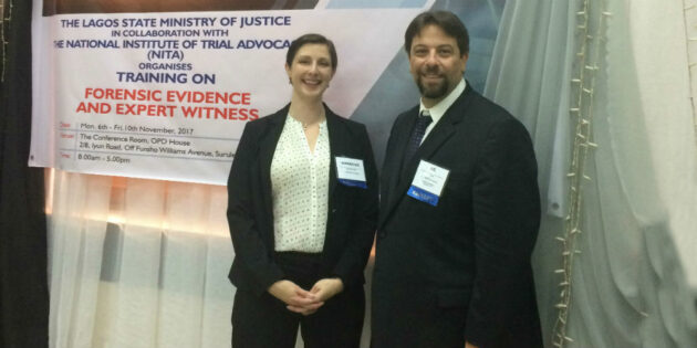 Two Rutgers Professors Advise Nigerian Lawyers on Country's Developing Court System