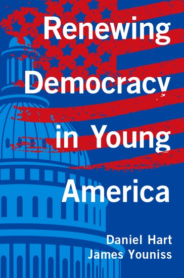 Book cover: Renewing Democracy in Young America