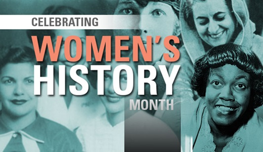 Series of Events to Celebrate Women's History Month in March