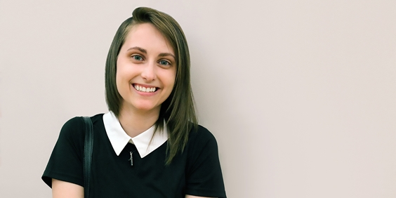 Graphic Design and Marketing Major Named One of Graphic Design USA's Students to Watch