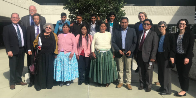 Rutgers Law Professor Among a Group of Human Rights Lawyers to Win Groundbreaking Human Rights Case Against Former Bolivian Officials
