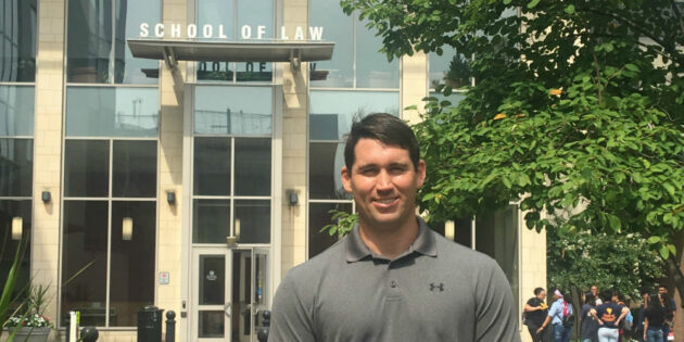 First-Year Law Student Neil Doogan Eager to Explore Service Opportunities