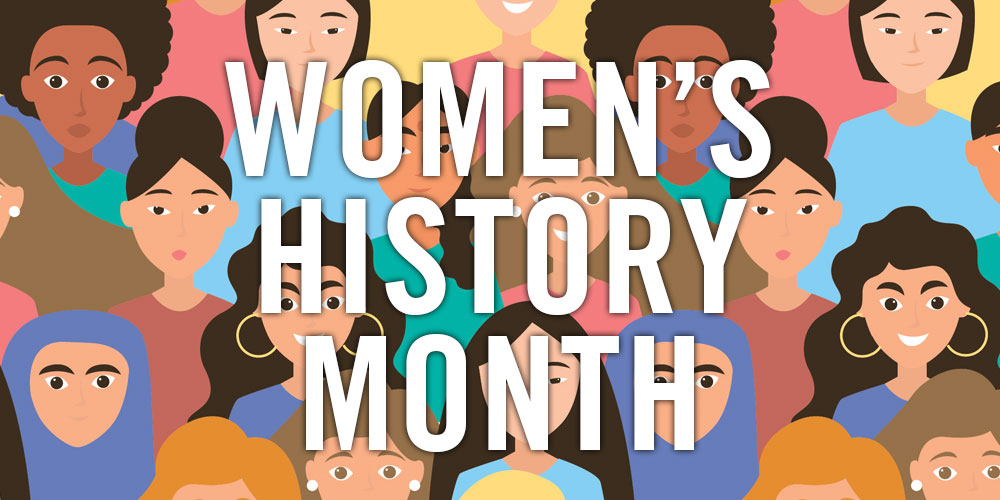 Image result for this month in women's history calendar