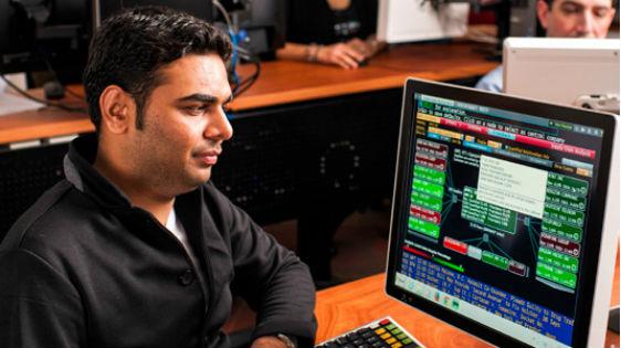 Rutgers School of Business–Camden finance lab