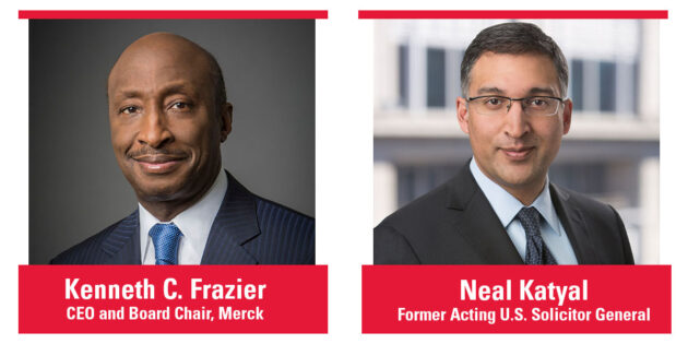 Merck CEO Kenneth Frazier, Former Acting U.S. Solicitor General Neal Katyal to Receive Honorary Degrees at Rutgers University–Camden Commencement
