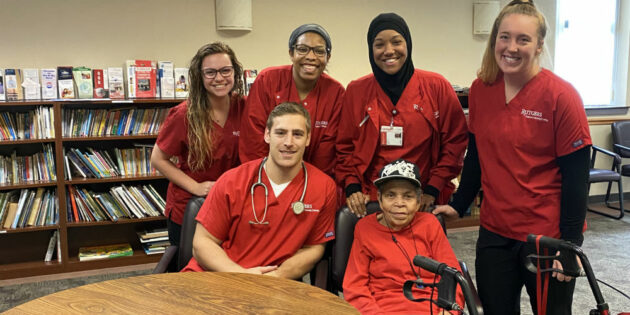 Elderly Camden Residents Receive Health Support through Home Visits from Rutgers‒Camden Nursing Students