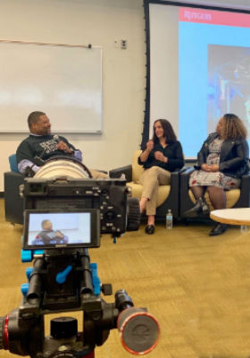 Oscar Holmes interviews Gender Studies Professor Gail Caputo and TiAira Neal of the Office of Diversity and Inclusion