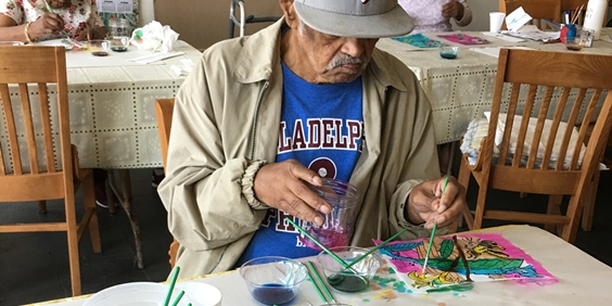 Camden Seniors Rediscover Art Through Rutgers–Camden Center for the Arts Program