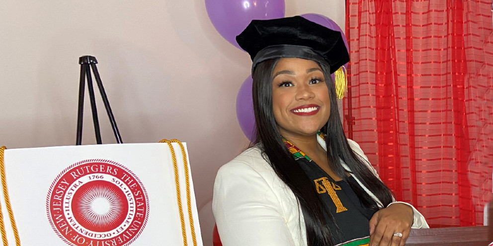 Carmen Day graduated with honors from Rutgers Law School in Camden