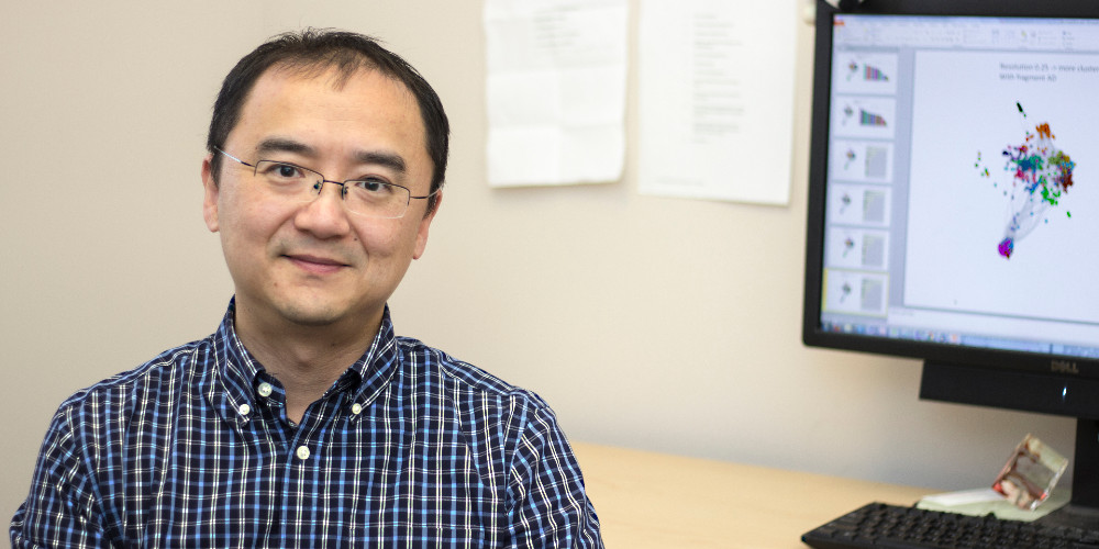 Chemistry Professor Hao Zhu
