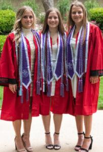 Kelly, Casey, and Rachel